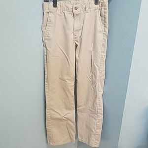 Boys Izod Size 16 Reg Khaki pants 100% cotton